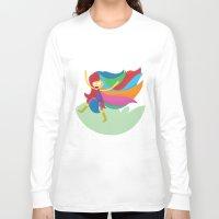 musa Long Sleeve T-shirts featuring Musa by Juliana Rojas   Puchu