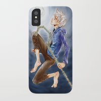 jack frost iPhone & iPod Cases featuring Jack Frost by SpaceMonolith