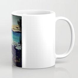 Dinosaur Beach - Retro look fine art canvas print Coffee Mug