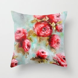 Cowgirls Boots Throw Pillow