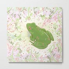 Little Frog Metal Print