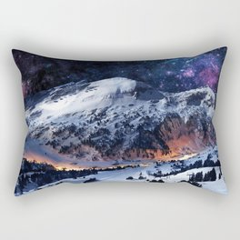 Mountain CALM IN space view Rectangular Pillow