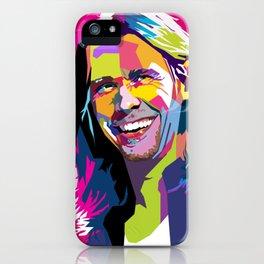Myles Kennedy Smile WPAP iPhone Case