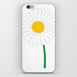 Daisy Illustration iPhone Skin