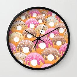 Donuts Wanderlust Wall Clock