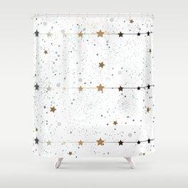 Winter Pattern Shower Curtain
