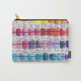 Artist Colour Palette Swatch Test Carry-All Pouch