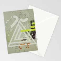 Coordinates Stationery Cards