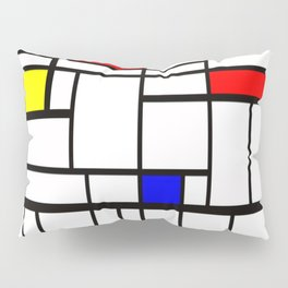 Mondrian inspired Pillow Sham