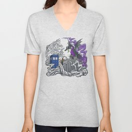 And Now You Will Deal with ME, O' Doctor Unisex V-Neck
