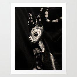 art doll, insect Art Print