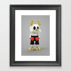 Blink Blink Kranyus Framed Art Print