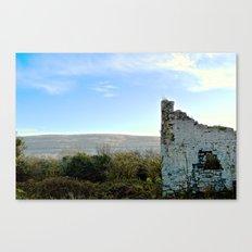 Beauty Beyond the Crumbling Walls Canvas Print