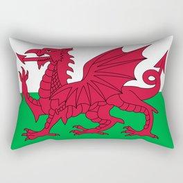 Flag of Wales Rectangular Pillow