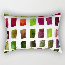 Brushstrokes 1za by Kathy Morton Stanion Rectangular Pillow