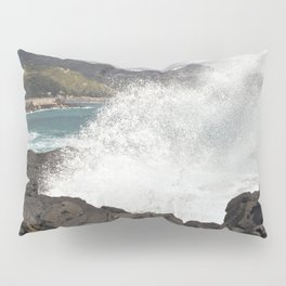 WAVES BEACH - SICILY Pillow Sham
