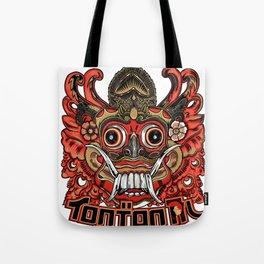 Barong tontonal design Tote Bag