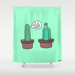 encouragement Shower Curtain