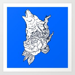 Wolfous Art Print