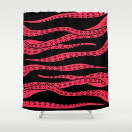 Blood Tentacles Shower Curtain