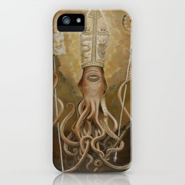 Blessed Saint Architeuthis iPhone Case