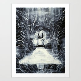 SUFI WHIRLING  - FEBRUARY 19,2013 Art Print