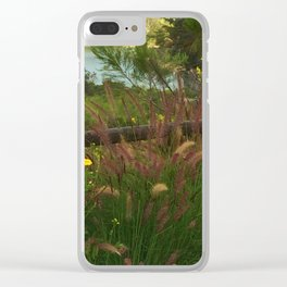 Lake Murray, La Mesa, California Clear iPhone Case