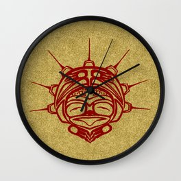 Blood Frog Sand Wall Clock