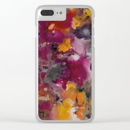 COLORFUL 124 Clear iPhone Case