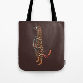 Abstract Meerkat Tote Bag