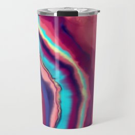 Colorful agate stone Travel Mug