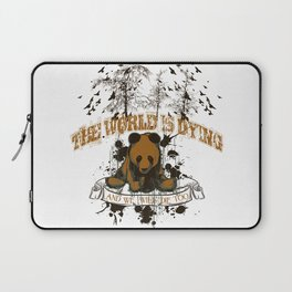The world is dying Laptop Sleeve