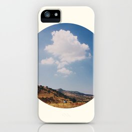Road and cloud iPhone Case
