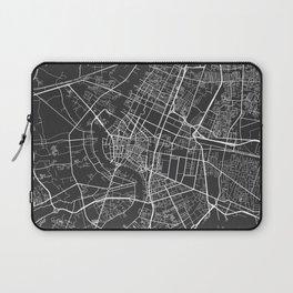 Bangkok Map, Thailand - Gray Laptop Sleeve