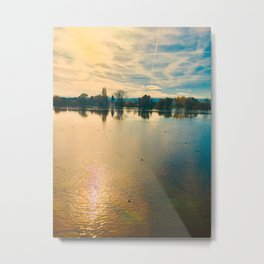 Chilled Athmosphere Photography Metal Print