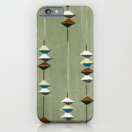 Green Lampoons iPhone Case