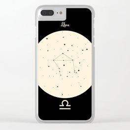 Libra - Black Clear iPhone Case