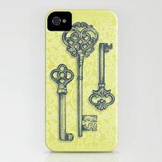 Three Skeleton Keys iPhone (4, 4s) Slim Case