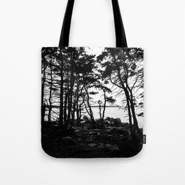 Acadia Trees Tote Bag