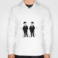 tintin Hoodies featuring Thomson and Thompson by Hannighan