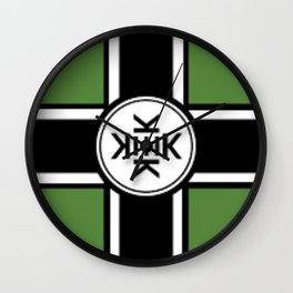Kekistan Flag Wall Clock