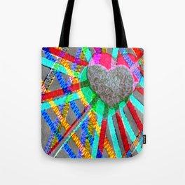 Multi Heart Rays 1 Tote Bag