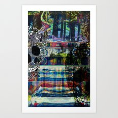 CMYK Requiem pt. 1 Art Print