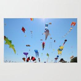 Kites over Lake Michigan Rug