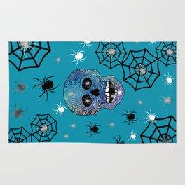 Creepy Crawling Spiders Rug