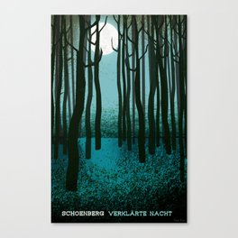 Transfigured Night - Verklarte Nacht  - Schoenberg Canvas Print