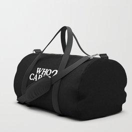 Who cares? Duffle Bag