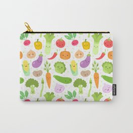 Happy Veggies Carry-All Pouch