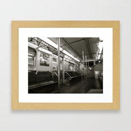 transit Framed Art Print