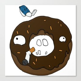 Darryl the Donut Canvas Print